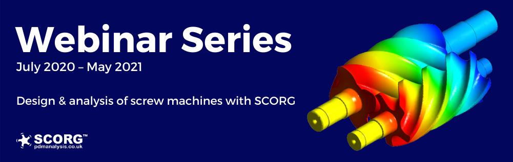 Webinar series about screw machines